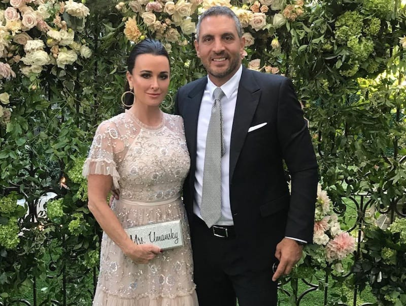 RHOBH Kyle Richards and Mauricio Umansky Attend a Wedding