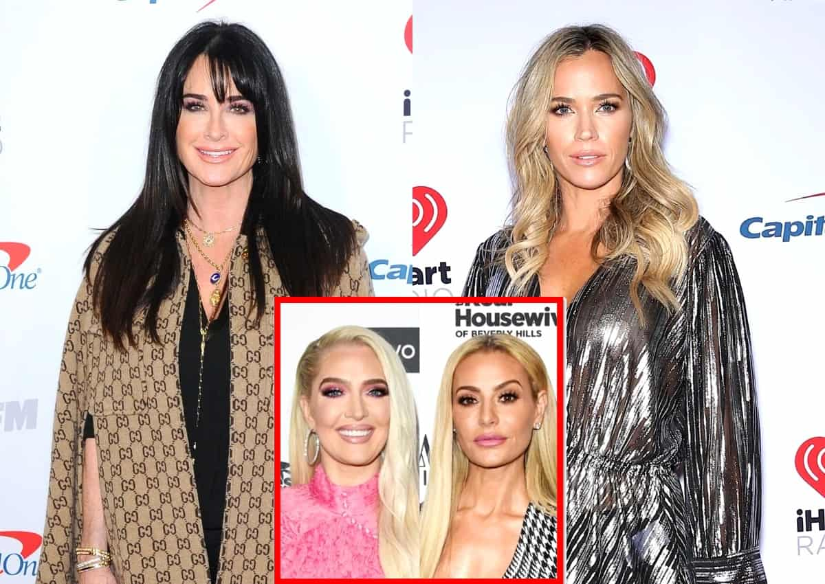 "RHOBH's Kyle Richards Slams ""Ridiculous"" Co-Stars for Bringing Their Glam Teams on Girls Trips as Teddi Mellencamp Explains Why It's Not Good for the Show, Plus Dorit Kemsley and Erika Jayne Defend Themselves Against Criticism"