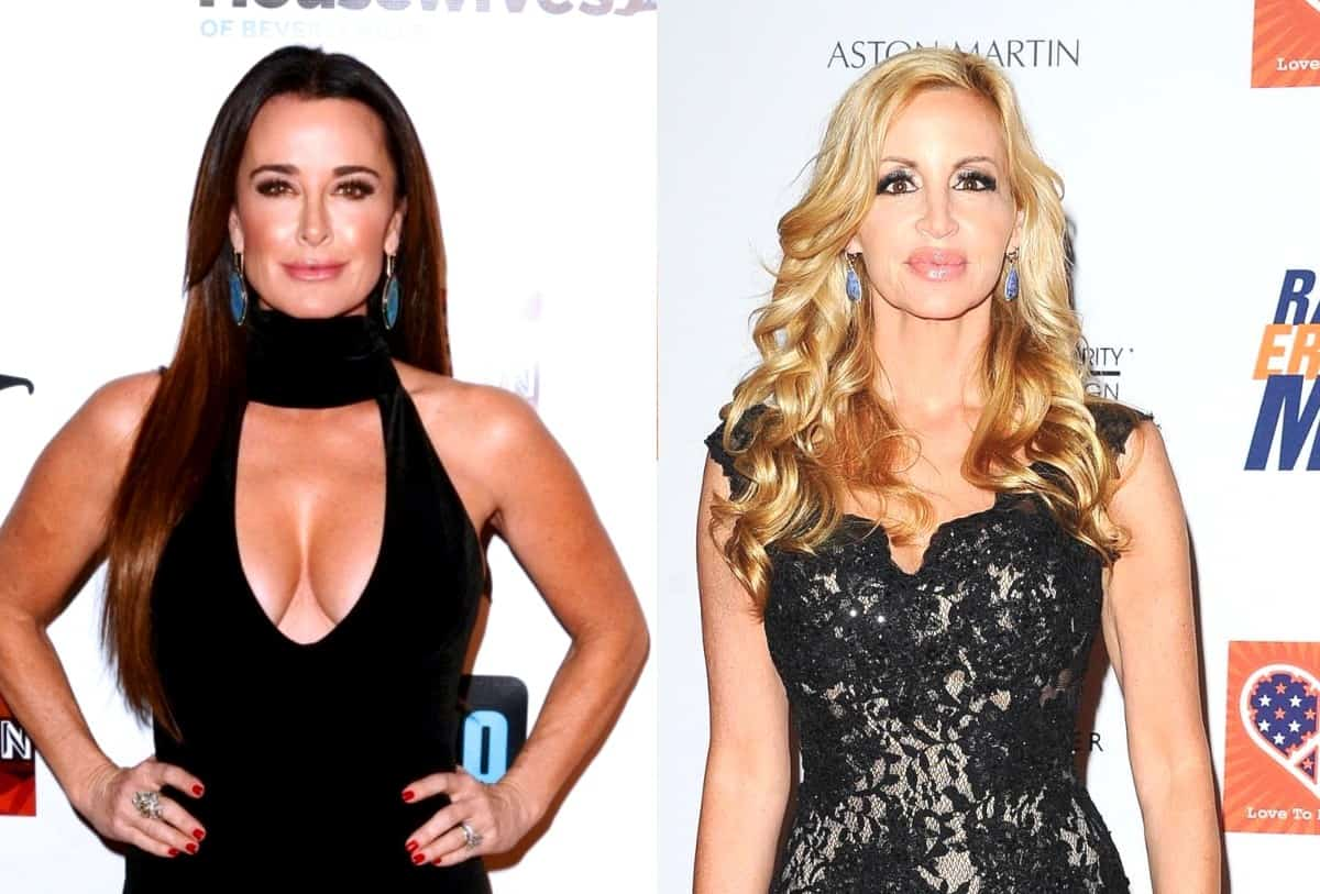 "Kyle Richards Claims Camille Grammer Wasn't Asked to Return to RHOBH Next Season and Explains Why as Fan Suggests She is a ""Behind-the-Scenes Producer,"" Plus Live Viewing Thread!"