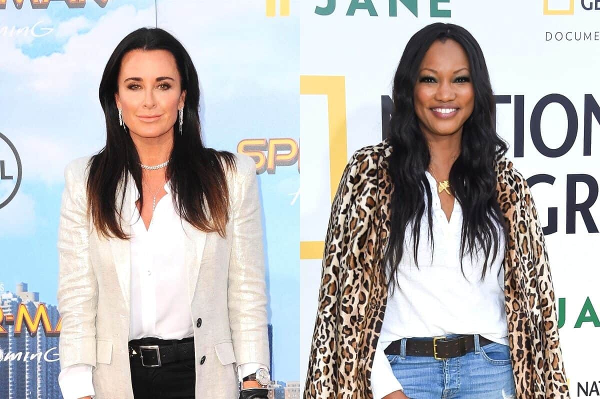 "Kyle Richards Suggests Garcelle Beauvais ""Clearly"" Targeted Her for a Storyline on RHOBH and Reacts to a Potential Producer-Driven ""Take Down"" by the Newbie"