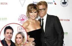 "Lisa Rinna Reacts to Rumors Husband Harry Doesn't Live at Home as RHOBH Costar Teddi Mellencamp Admits She and Husband Edwin Have Had ""Harder Days"" Amid Quarantine"