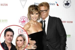 "RHOBH's Lisa Rinna Reacts to Rumors Claiming Husband Harry Hamlin Doesn't Live at Her Home as Teddi Mellencamp Admits She and Husband Edwin Arroyave Have Had ""Good Days"" and ""Harder Days"" Amid Quarantine"
