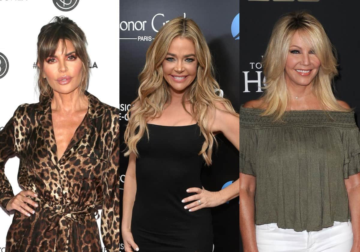 "PHOTO: RHOBH's Lisa Rinna Seemingly Shades Denise Richards With ""Happy Birthday"" Post to Denise's Ex-Friend Heather Locklear"