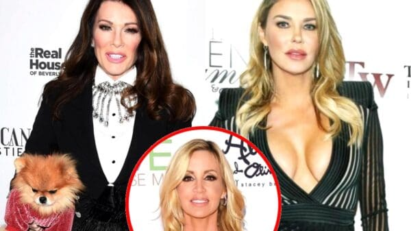 Lisa Vanderpump Pokes Fun at Claim Brandi Glanville 'Never Lies' After Brandi Falsely Suggested Lisa 'Trash-Talked' Cast With Camille on Her Podcast, Camille Has Never Appeared on Ex RHOBH Star's Podcast