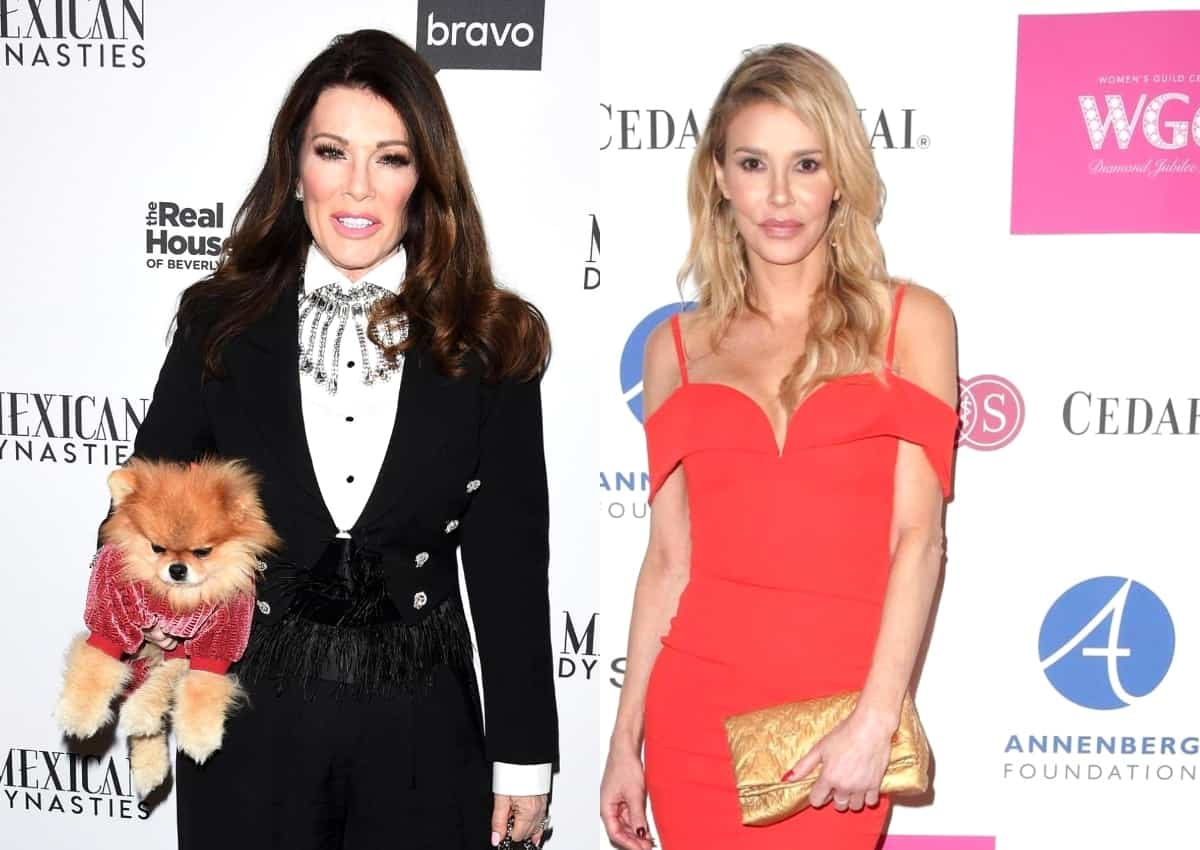 Ex RHOBH Star Lisa Vanderpump Claps Back at Brandi Glanville for Suggesting She Has Others Do Her Dirty Work and Reacts to Brandi Admitting Lisa Was Not the One Who Told Her Adrienne Used a Surrogate