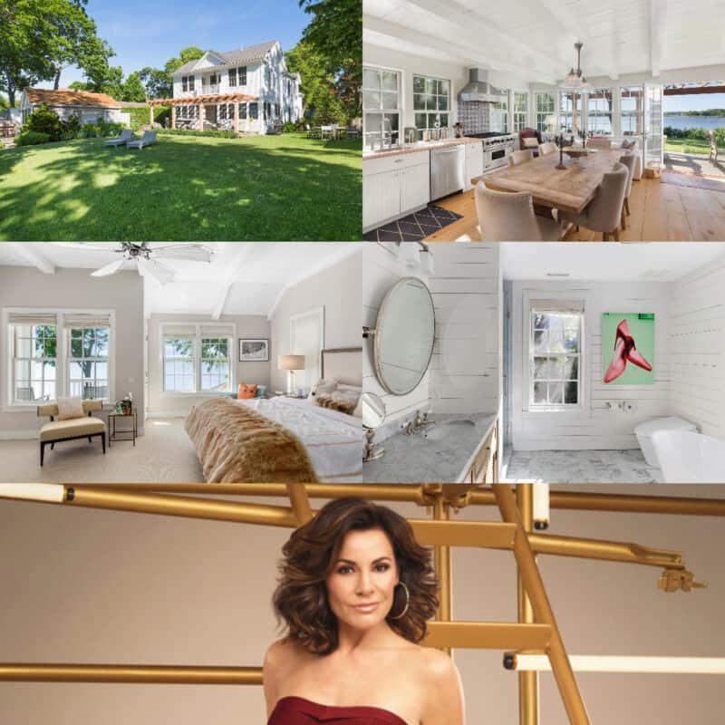 RHONY Luann de Lesseps House Collage