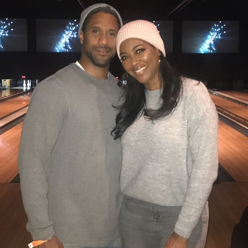 RHOA Marc Daly and Kenya Moore Go Bowling