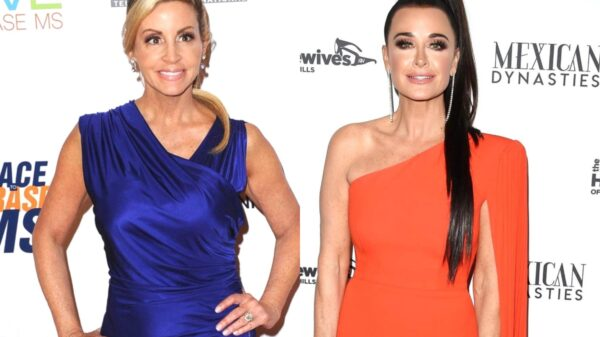 "Kyle Richards Suggests Camille Grammer is Desperate to Be on RHOBH as Camille Claps Back by Claiming Kyle is Obsessed With the Show and Accusing the Cast of Being ""Awful"" and Plotting to ""Take Down"" Denise Richards to Secure Their Diamonds"
