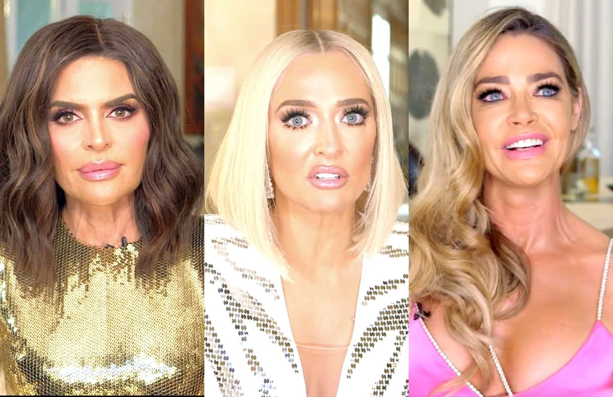 RHOBH Reunion Recap: Erika and Rinna Lash Out and Gang Up On Denise, Kyle Accuses Garcelle of Not Paying Charity Donation
