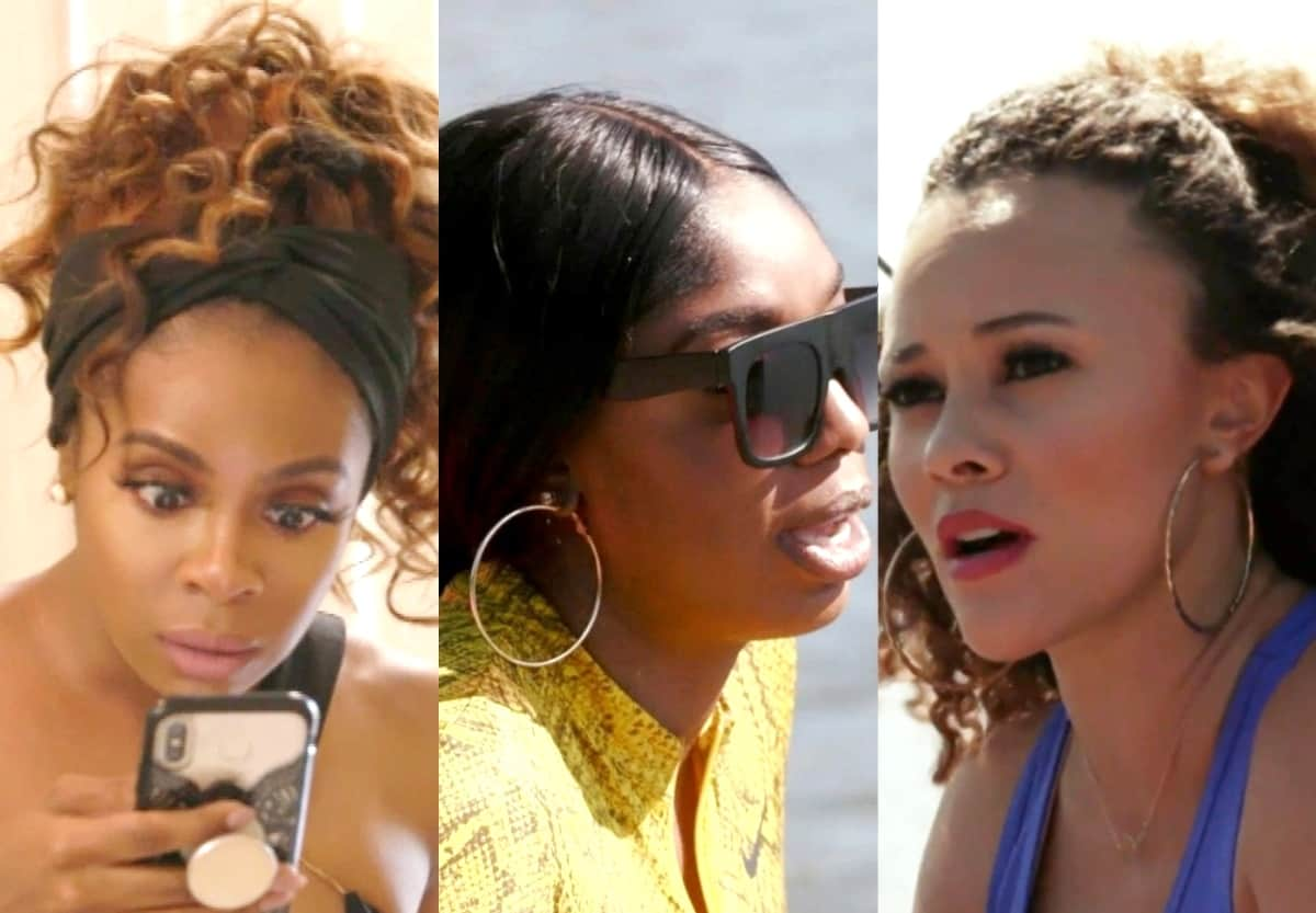 RHOP Recap: Candiace Shares Scandalous Text About Michael as Wendy and Ashley Hash Out Their Drama