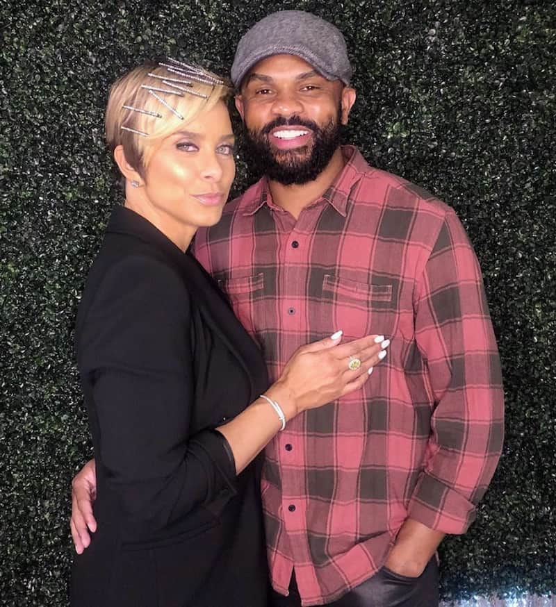 RHOP Robyn Dixon and Juan Dixon Hold One Another