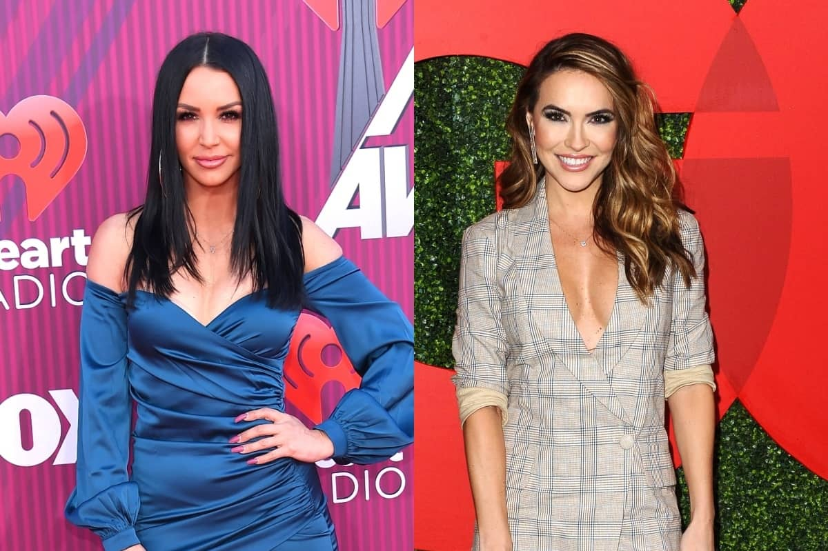 "Scheana Shay Slams 'Selling Sunset's Chrishell Stause as ""Fake"" and Explains Why She Won't Mend Their Friendship, Plus the Vanderpump Rules Star Reveals What a ""Throuple"" Actually is After John Mayer Romance and Talks Boyfriend Brock Davies"