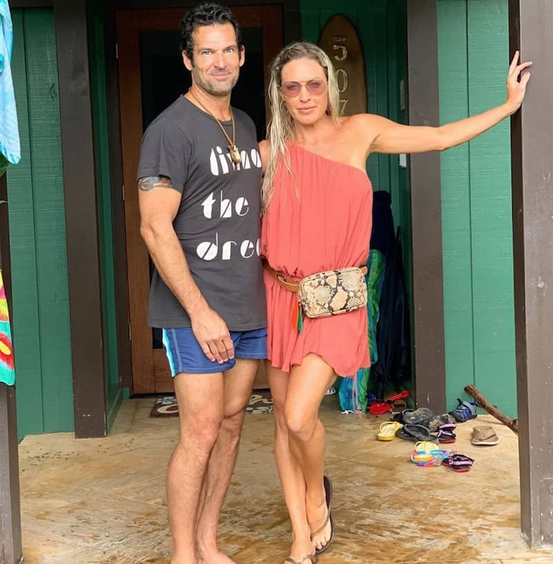 RHOC Sean Burke and Braunwyn Windham Burke Enjoy Hawaii