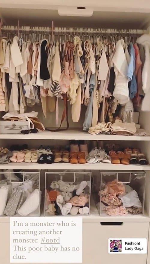 Vanderpump Rules Stassi Schroeder Shows Off Baby Girl's Closet