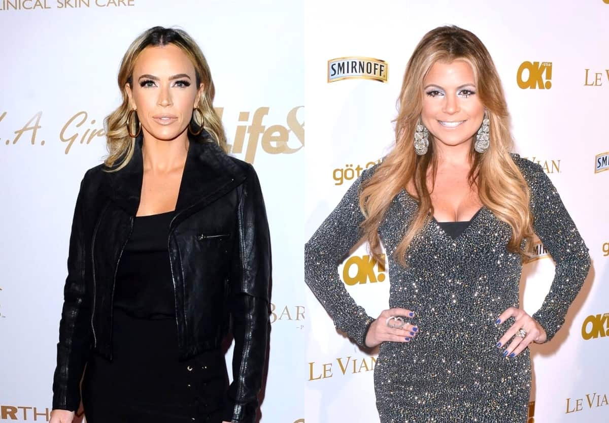 Teddi Mellencamp Claps Back at Dana Wilkey For Calling Her 'Desperate to Stay' on RHOBH, Explains Why Denise Kept Getting Interrupted at Reunion and if She Feels Bad About Rome Drama, Offers Update on Sutton Feud