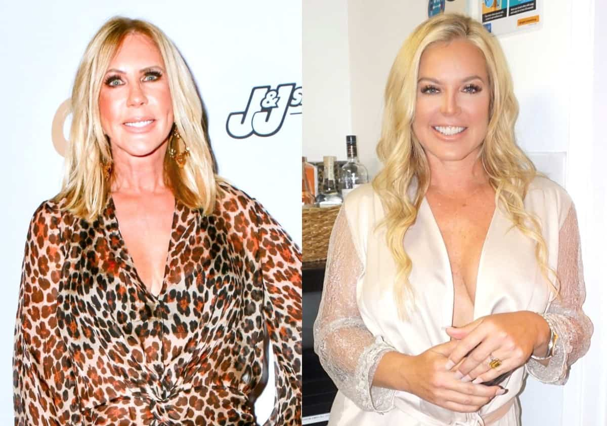 "Vicki Gunvalson Slams RHOC Newbie Elizabeth Vargas as an ""Idiot"" For Backing Kelly Dodd After Backlash For COVID Comments"