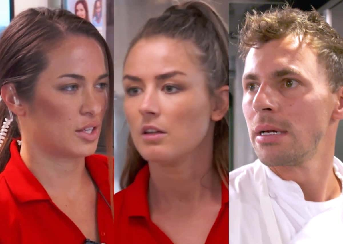 Below Deck Mediterranean Recap: Jess Confronts Aesha For Grabbing Rob's Butt, Plus Tom Makes A Big Mistake With The Final Dinner