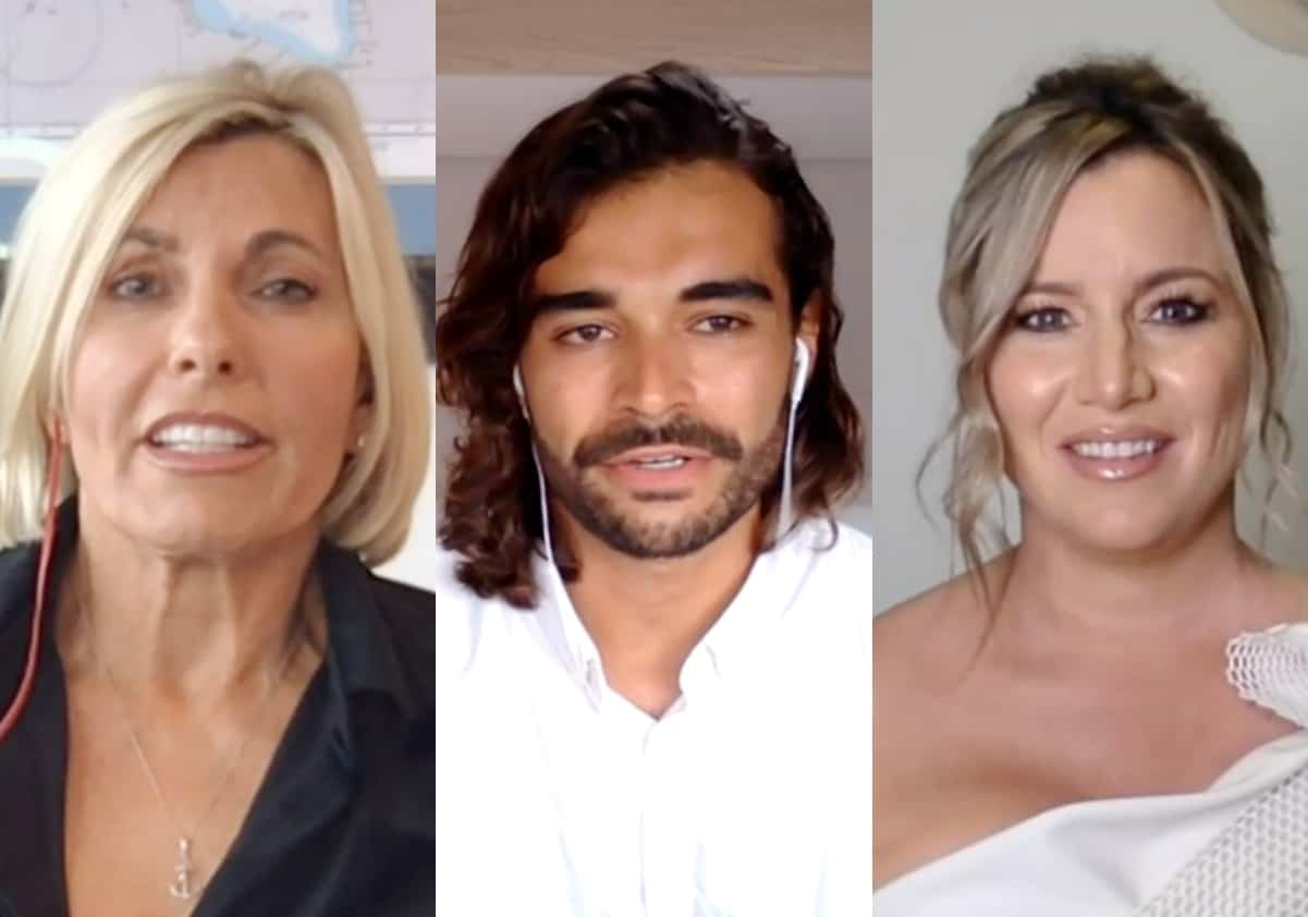 Below Deck Mediterranean Reunion Part 1: Captain Sandy Addresses Her Favoritism And Chef Kiko's Firing; Plus Is Hannah's Pen a THC or CBD Pen?