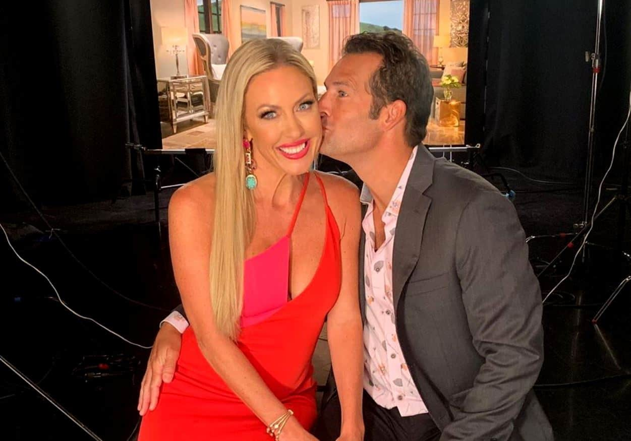 RHOC's Braunwyn Windham-Burke Celebrates One Year Sobriety With Husband Sean Burke During Lavish Beach Picnic
