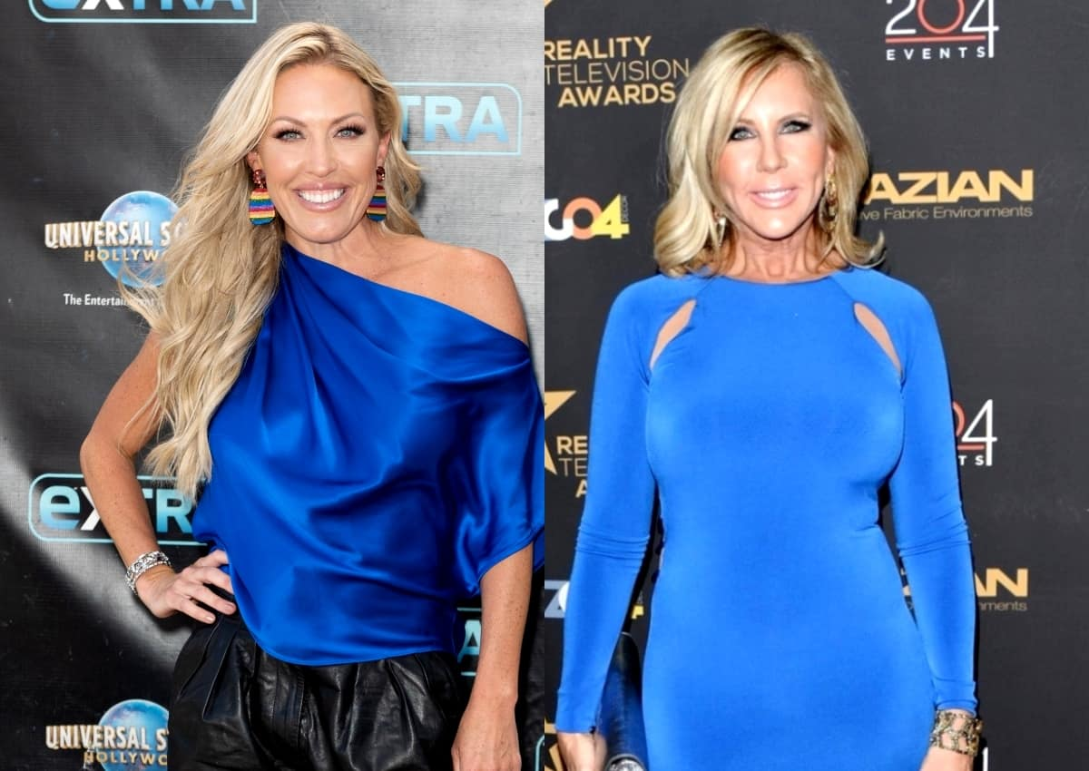 """Braunwyn Burke Claims Vicki Gunvalson Created """"Fake Drama"""" and Told """"Lies"""" on RHOC and Was Bad For Show, Says Shannon Flourished Without Tres Amigas"""