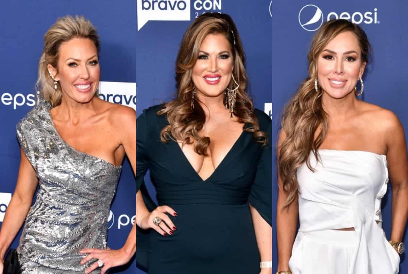 "RHOC's Braunwyn Windham-Burke Suspects Kelly and Emily Unfollowed Her Over Political Differences, Confirms Feud With Gina Had to Do With Her Sobriety and Explains Why She's a ""Lot Nicer"" to Vicki"