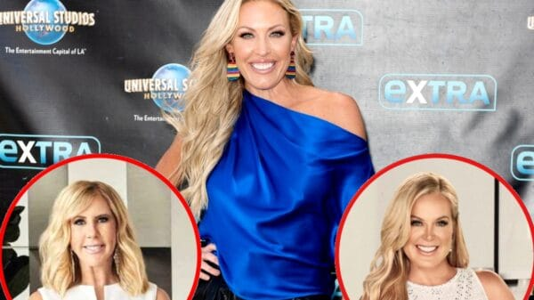 """RHOC's Braunwyn Windham-Burke Says She Was """"Glad"""" to See Vicki Gunvalson Leave the Show, Admits to Doing A """"Little Digging"""" About Elizabeth Vargas, and Explains Why She Believes Shannon Beador and Kelly Dodd's Friendship Will Remain Intact"""