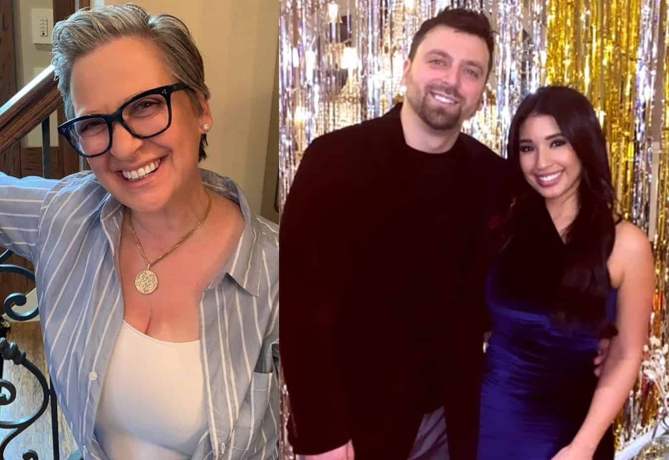 PHOTOS: RHONJ Alum Caroline Introduces Son Chris Manzo's Girlfriend Cassandra Cortez, Plus Photo of Chris's New Home as They Move in Together, and Albie Manzo's Girlfriend!