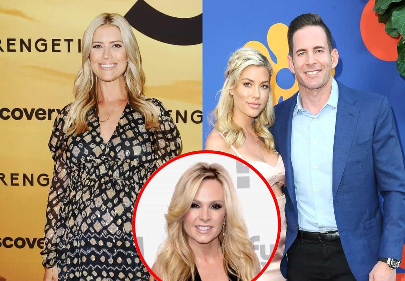 Christina Anstead Not Invited to Wedding of Ex Tarek El Moussa and Heather Rae Young, Plus Selling Sunset Star Double Dates With Tamra Judge Who Hints at New Real Estate Show
