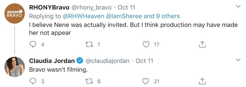 Claudia Jordan Confirms Bravo Didn't Film Cynthia Bailey Wedding for RHOA
