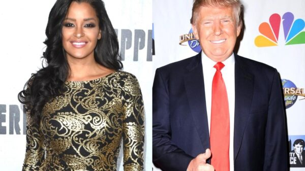 "RHOA's Claudia Jordan Claims Donald Trump ""Tried to Kiss"" Her Twice While Married to Wife Milania and Says Everyone Knows He Cheats, Alleges Don Jr. Was ""Definitely Hollering"" at Aubrey O'Day on Celebrity Apprentice"