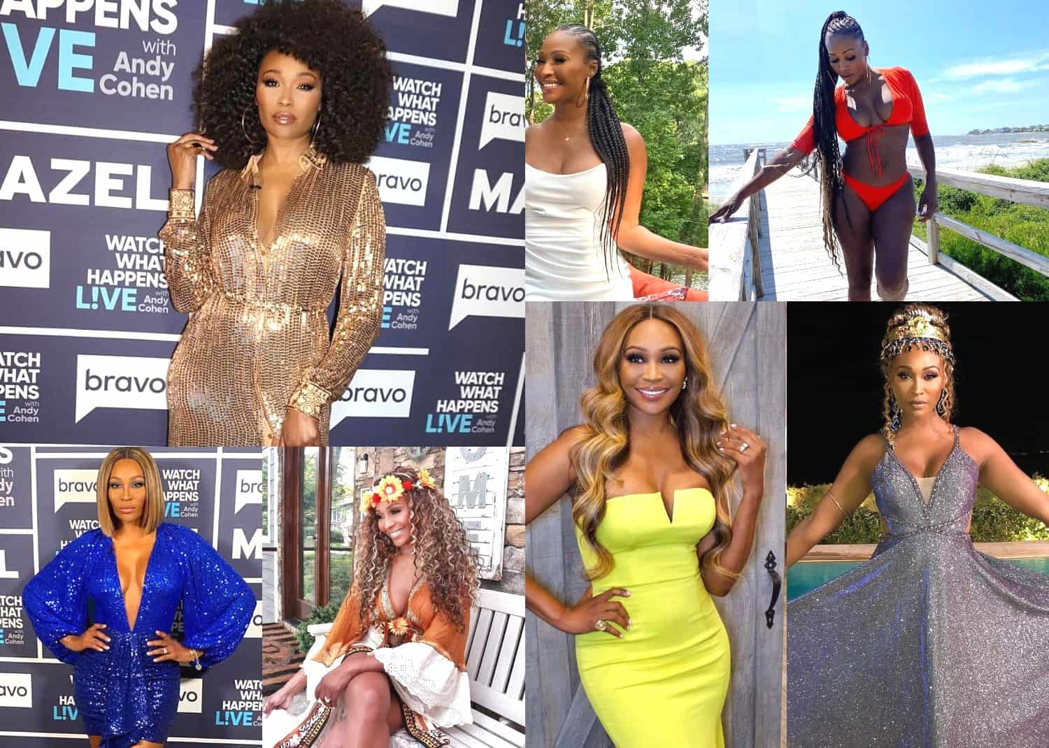 Cynthia Bailey fashionable most iconic looks afro