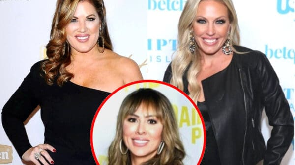 """RHOC's Emily Simpson Slams Braunwyn as a """"Hypocrite"""" Who Makes """"Questionable Life Choices"""" and Denies Unfollowing Her Due to """"Political Beliefs,"""" Plus Kelly Dodd Reacts"""