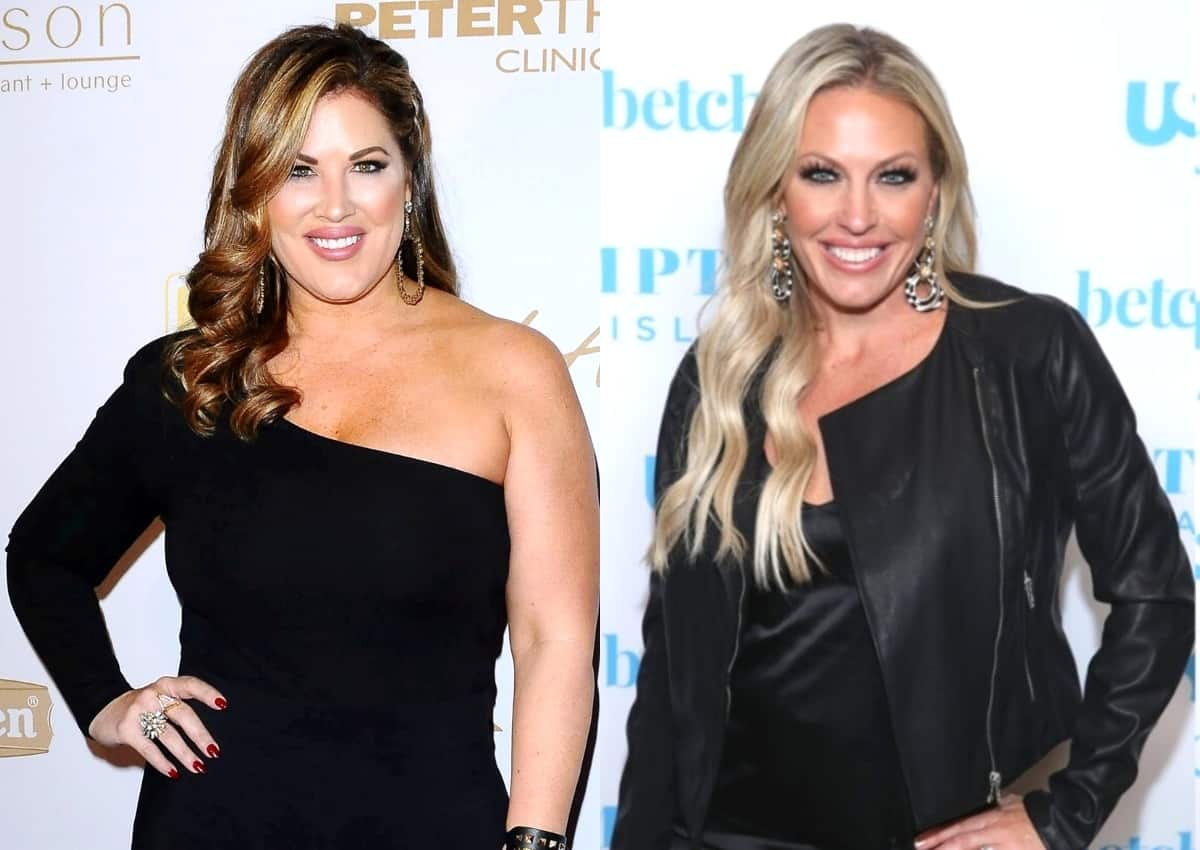 """RHOC's Emily Simpson Reveals the Entire Cast Unfollowed Braunwyn Windham-Burke and Says She Found Her to Be """"Completely Inauthentic"""" During Season 15, Plus Teases Reunion Drama and Shares Husband Shane's Reaction to Her Weight Loss"""