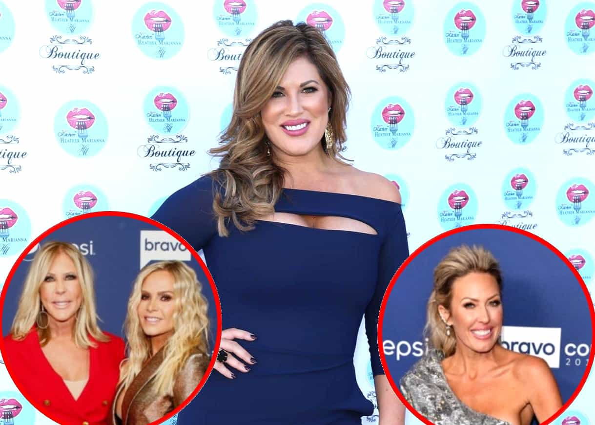 """RHOC's Emily Simpson Claims the Show is """"Better"""" and """"More Authentic"""" Without Vicki Gunvalson and Tamra Judge and Reveals Newbie Elizabeth Vargas """"Ruffles Feathers"""" With Their Co-Stars, Plus Says Braunwyn Windham-Burke Has """"Issues With Everyone"""""""