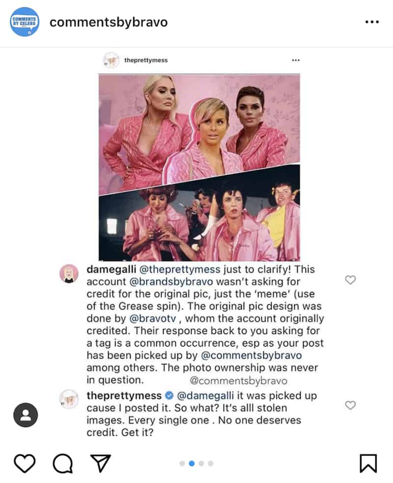 RHOBH Erika Jayne Claims All Photos Are Stolen Amid Feud With Bravo Fan Page