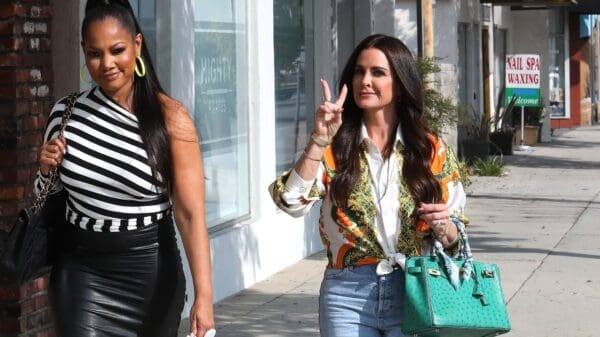 PHOTOS: Kyle Richards and Garcelle Beauvais Spotted Together at Lunch While Filming For RHOBH Season 11, Have They Squashed Their Beef?