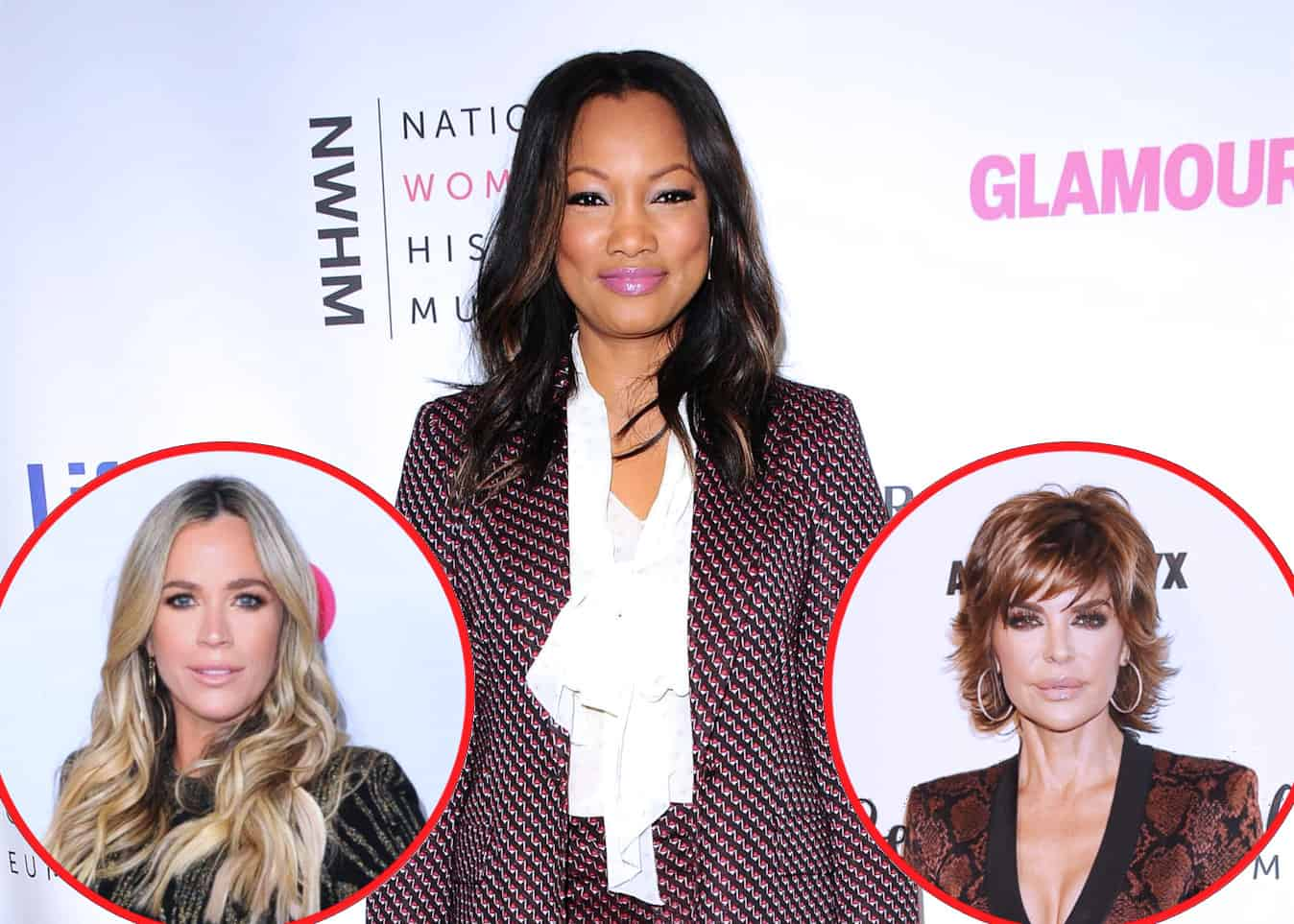 "Garcelle Beauvais Offers Shady Reaction to Teddi's Exit From RHOBH, Says Lisa Rinna's Behavior Was ""Not a Good Look,"" Reacts to Casting Rumors Regarding Kathy Hilton and Crystal Kung Minkoff"