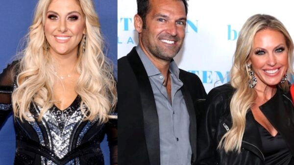 "Gina Kirschenheiter Says RHOC Co-Star Braunwyn Windham-Burke and Sean Burke's Marriage is ""In Crisis"" and That It Might Just Be ""Easier"" For Them to Not Get Divorced"