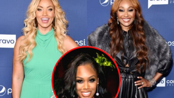RHOP's Gizelle Bryant Admits She Left Cynthia Bailey's Wedding Early Because People Stopped Wearing Masks and Reveals If She Believed Monique Was Being Authentic During Her Conversation With Her Pastor