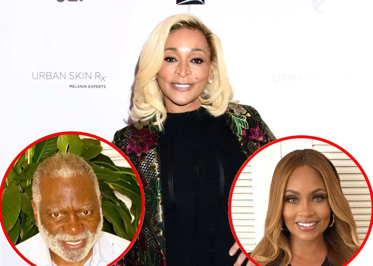 "Karen Huger Shares Update On Marriage With Husband Ray Amid ""Raw"" Season of the RHOP, Plus She Slams Gizelle Bryant's ""Secondhand Trashcan"" Wardrobe"