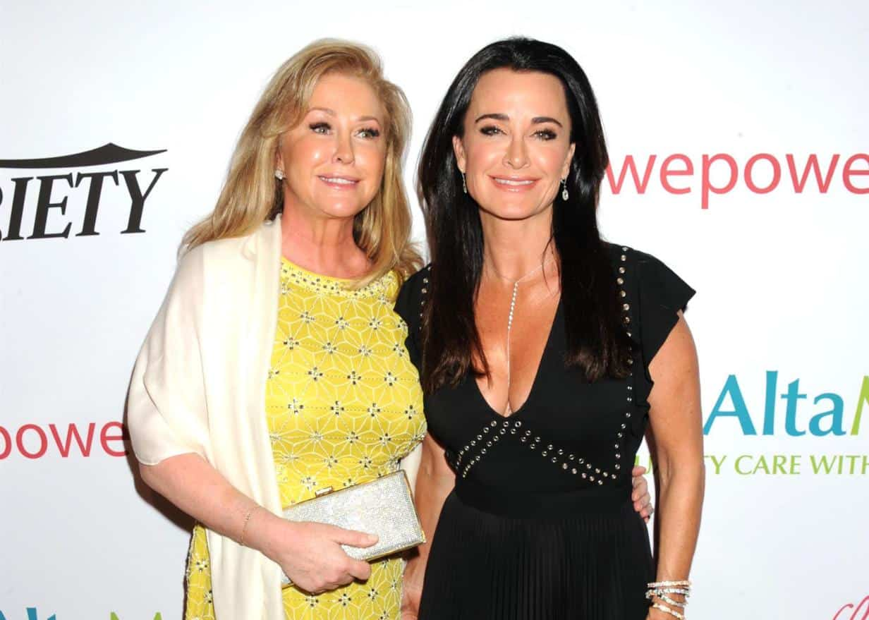 """Kyle Richards Shares Her Reaction to Sister Kathy Hilton Allegedly Joining the RHOBH: """"I Think It Would Interesting and Fun"""""""