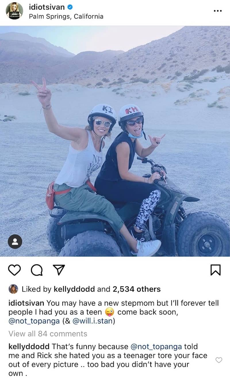 RHOC Kelly Dodd Slams Rick Leventhal's Ex-Fiance on Instagram