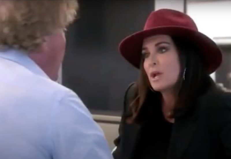 RHOBH Kyle Richards is kicked out by Ken Todd