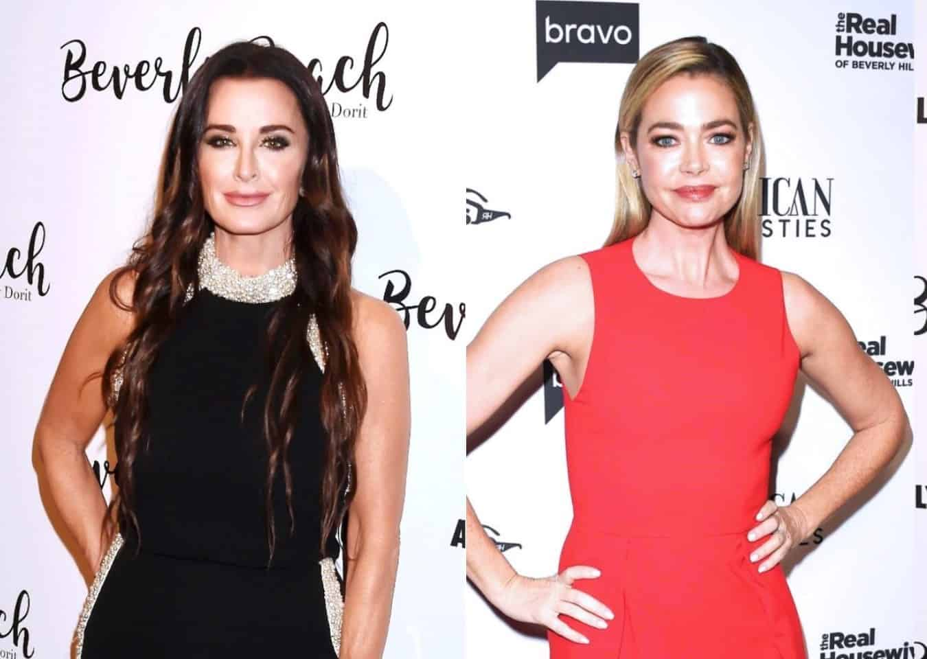 "RHOBH's Kyle Richards Says She and Denise Richards Are in a ""Good Place,"" Reveals Her Biggest Regret of Season 10, and Shares Which Season Was Hardest to Film, Plus How She and Mauricio Cope With Split Rumors"