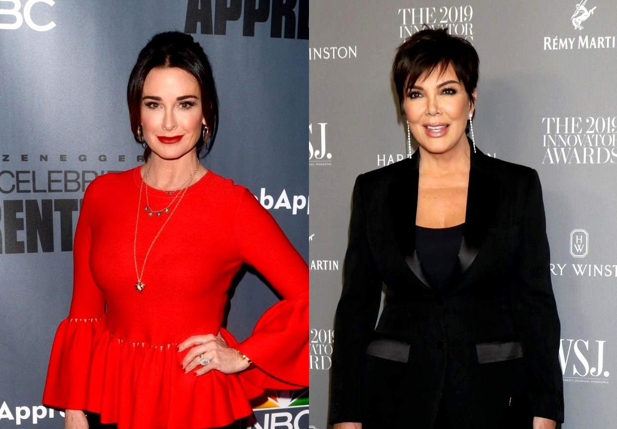 PHOTO: Kyle Richards Fuels Rumors of Kris Jenner's Addition to RHOBH as a Bravo Executive Explains Breaking the Fourth Wall and Reacts to Casting Rumors