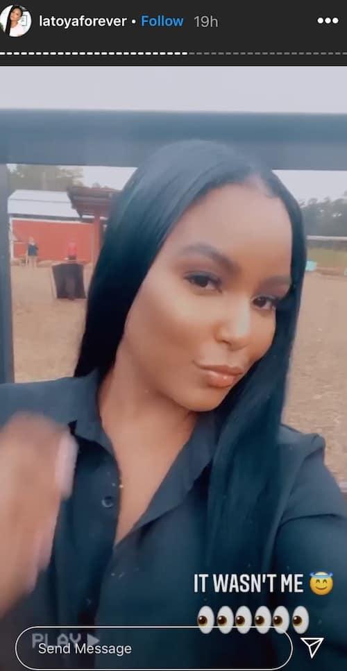 RHOA LaToya Ali Denies Hooking Up With Bachelorette Party Stripper