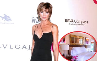 PHOTOS: Lisa Rinna Shows Off Her Renovated Bedroom! RHOBH Star Takes Fans Inside Master Suite of Beverly Hills Home She Shares With Husband Harry Hamlin
