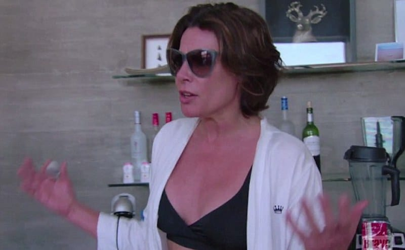 RHONY Luann de Lesseps Be cool, don't be completely uncool