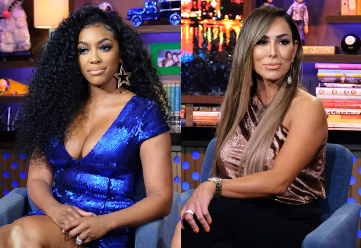 RHOA's Porsha Williams Calls Out Kelly Dodd for Hat Mocking 'Black Lives Matter' as RHOC Viewers Boycott the New Season Due to Her Tone Deaf Remarks and Beg Bravo to Fire Her