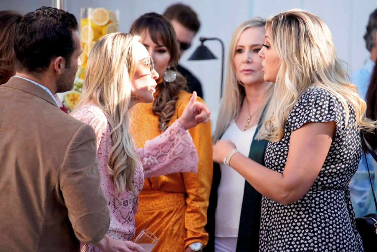 RHOC Recap: Shannon Denies Or Does She Lie? Plus Braunwyn Storms Out-Just Another Party In the OC